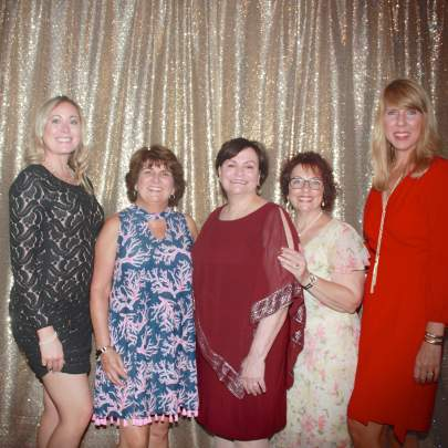 Sponsor Cleveland Clinic Martin Health was represented by Angela Aulisio, Pat Koppola, MCHS Board President Valerie Bell, Kelly McIntyre,  and Tracy Kerwin