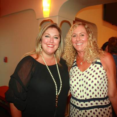 Commissioner Stacey Hetherington and Missy Campbell, Executive Director Palm City Chamber of Commerce
