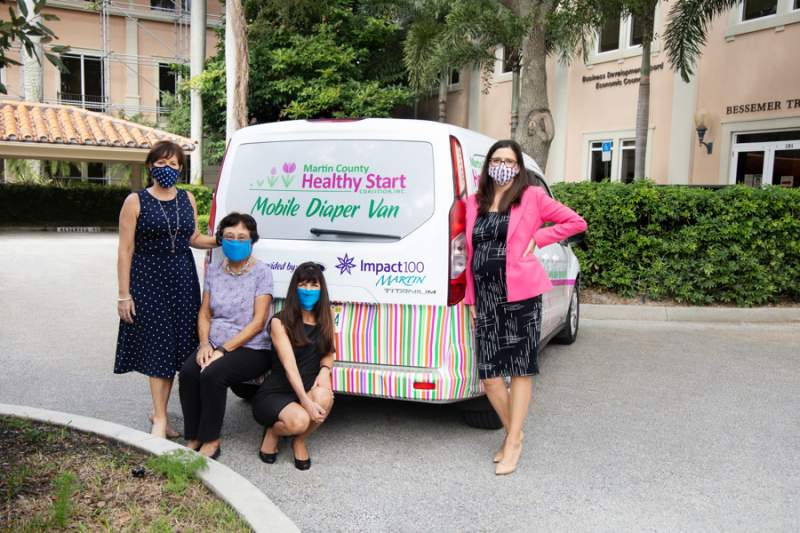New diaper delivery van for Healthy Start Coalition.